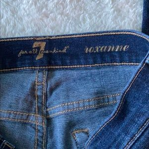 7 For All Mankind Jeans - 7 FOR ALL MANKIND • ROXANNE SKINNY JEANS